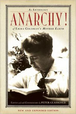 Emma Goldman. Anarchy! Mother Earth anthology. (book cover)