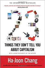 Ha-Joon Chang. 23 things they don't tell you about capitalism (Book cover)