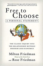 Book cover of Milton Friedman with link to drive (from Penny Post library)