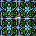 Azulejo Talavera modelo Xcaret en 10.5 x 10.5 cm, ideal para baños y cocinas mexicanas lo encuentras en Rústicos Artesanales visítanos en nuestra web www.rusticosartesanales.com