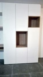 Rangements invisibles et niches - Menuiserie Deslandes