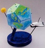 手作り地球儀