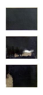 J'ai fait un rêve, collages par Annie Baratz artiste peintre plasticienne
