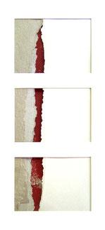 Passage, collages par Annie Baratz artiste peintre plasticienne