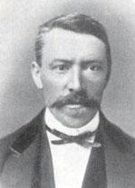 1. Kassier der TGA: Major Carl von Reding