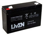 LIVEN LV12-6 6V-12Ah AGM-STANDARD
