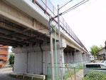 月吉陸橋(剥離防止工事)