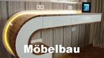 Massivholzmöbel in individueller Gestaltung, Schubladen mit Hettich Push-to-open, LED-Beleuchtung, Zebrano Massivholz mit Klarlack