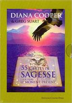 55 cartes de sagesse pour vivre le moment présent, Pierres de Lumière, tarots, lithothérpie, bien-être, ésotérisme
