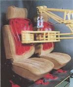 Haltbarkeitstest der Sitze