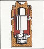 Schnittzeichnung Hydrostößel