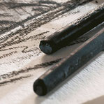 Carboncillos de madera natural y sintéticos calidad artista