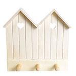 Perchas de madera para decorar con scrap y decoupage