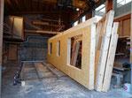 Holz Element Holzelementproduktion im Werk Dani Vogt Holzbau Allmeindstrasse 27, CH-8855 Wangen Schwyz SZ