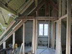 Dachboden Rückbau Einbau von Sparren Erneuerung der Balken Entwurmung neuer Ausbau Dani Vogt D. Vogt Holzbau GmbH CH 8855 Wangen SZ