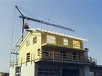 Holzelement Gebäude Aufstockung in 2-3 Tagen regendicht Dani Vogt Holzbau Allmeindstrasse 27, CH-8855 Wangen Schwyz SZ