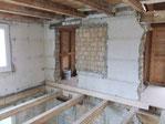 Rückbau Boden entfernen Wand öffnen Balken sanieren Decke öffnen Grundsanierung neu aufbauen Dani Vogt D. Vogt Holzbau GmbH CH 8855 Wangen SZ