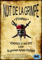 Nuit de la grimpe pour les grands  - 31/05/2013