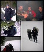 Equipe de tournage pour le documentaire