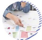 ビジュー式カードワーク整理整頓術