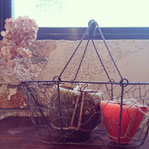 caldera candle&wire egg basket