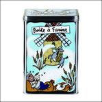 Boîte à Farine Meunier Bleu
