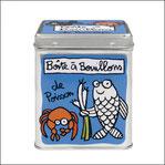 Boîte à Bouillons de Poisson Bleu