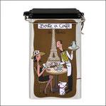 Boîte à café Hermetique de Paris
