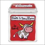 Boîte à Bouillons de Boeuf rouge