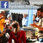 Facebook Festival des Saveurs Pyrénées Audoises