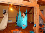 Stage yoga aérien, yogaswing Jyoti-yogi.com