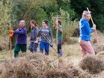 Tatkräftige Helfer beim Arbeitseinsatz im Tiefenbach: Foto Ralf Aldinger