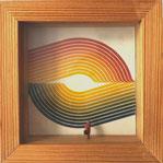 Handelsvertreter, großen Swing eingehend betrachtend  OEHM ART PRODUCTION 1979