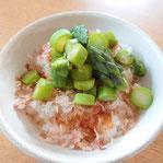 アスパラガスご飯 レシピ