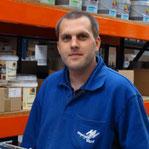 Maikel Heijltjes, magazijn / chauffeur