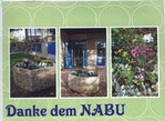 Dank des Kindergartens Groß-Gerau / Auf Esch für die finanzielle Unterstützung durch den NABU Groß-Gerau / Berkach