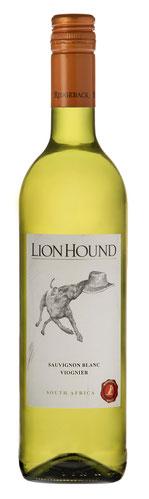 The Lion Hound White - 2016  Der Ridgeback Lion Hound White ist eine Cuvée aus 69 % Chenin Blanc und 31 % Viognier. In der Nase und am Gaumen hat der Lion Hound White saftigen weißen Pfirsich, Ananas und Orangenblüte und ein Hauch Zitrone. Gut gekühlt der