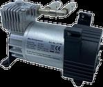 Compresseur compact pour le contrôle de pression de la suspension pneumatique sur camping-car, caravane et fourgon.