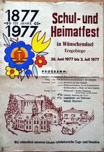 BIld: Wünschendorf Schulfest 1977 Erzgebirge