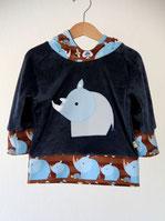 Hoodie Lumpenprinzessin Lillestoff Rhino Boy