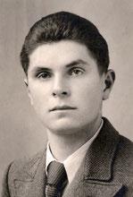 Max Wälti 20 jährig