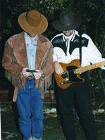Kentucky Ramblers mit Michael Zumstein (bestens zu erkennen...), 1998