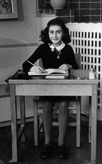 Anne Frank 1940, (C) Wikipedia gemeinfrei