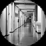 établissement d'hébergement et de soins : hôpitaux, cliniques, ehpad, maison de retraite, SSR, résidence séniors, ...