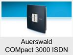 """Funktionserweiterungen und Freischaltungen für Auerswald COMpact 3000 ISDN"""": Faxversandfunktion"""