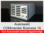 """Funktionserweiterungen und Freischaltungen für Auerswald COMmander Business 19"""": VoiceMail-/Fax-Boxen"""