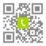 Telefonnummer der Zahnarztpraxis Dr. Matthias Münch in Viernheim: Einfach scannen und anrufen!