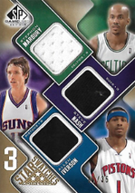 MARBURY NASH IVERSON / Star Swatches - No. 3S-NIM  (#d 7/35)