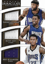 COUSINS GAY McLEMORE / Triple Jersey - No. T-SAC  (#d 54/75)