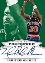 ROLANDO BLACKMAN / Preferred Signatures - No. 541  (#d 3/5)